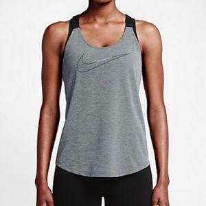 Nike Elastika Grey Workout Tank